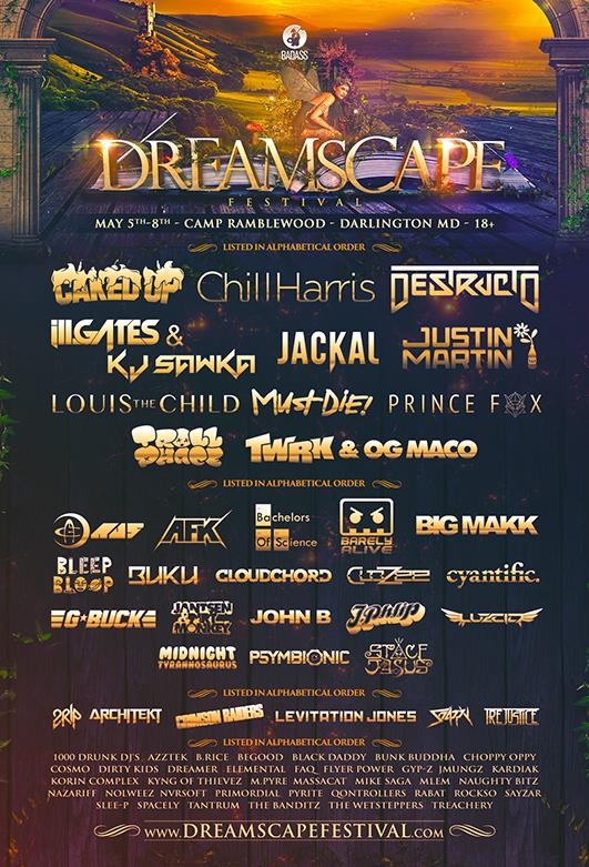 DREAMSCAPE 2016 LINEUP
